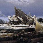 Πίνακας του david caspar friedrich - ''Θάλασσα από πάγο''